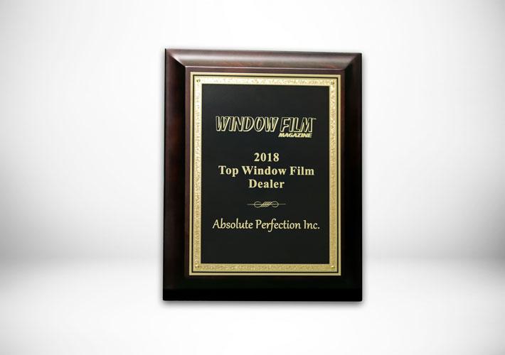 window film magazine 2018 top window film dealer award